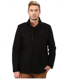 Kenneth Cole Reaction Wool Car Coat Sale