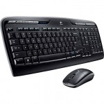 Logitech MK320 Full-Size Wireless Multimedia Keyboard and Mouse Sale
