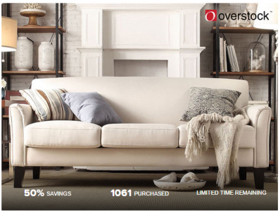 picture of $20 Overstock Voucher for $10