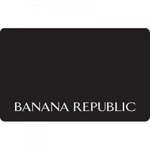 15% off Banana Republic Gift Card