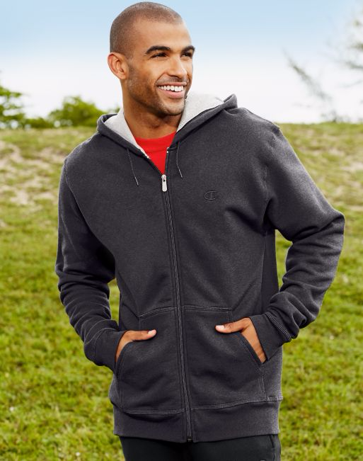 Champion Men's Water Repellent Zip Hoodie