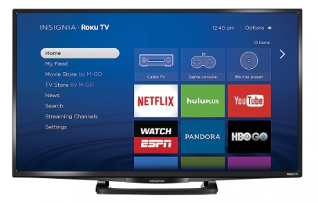 picture of Insignia 32in LED 720p 60Hz HDTV with Roku Sale