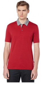 Short Sleeve Oxford Collar Polo