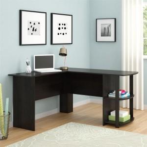 Altra Dakota L-Shaped Desk with Bookshelves Sale