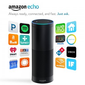 picture of Certified Refurbished 1st Gen Amazon Echo with Alexa