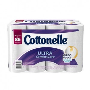 Cottonelle Ultra Comfort 36 roll Toilet Paper Sale