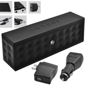 picture of Ematic 8-in-1 Accessory Kit with Portable Bluetooth Speaker, Cable, Charger