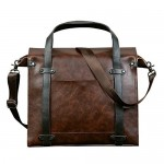 EveryMarket  Vintage Messenger 14in Laptop Bag Sale
