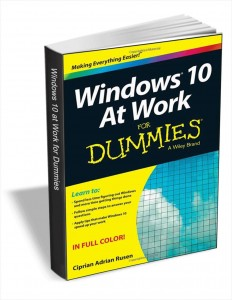 Free Windows 10 at Work for Dummies eBook