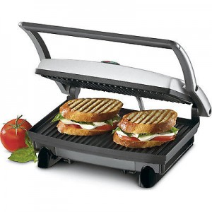 picture of Cuisinart GR1 5-in-1 Griddler Panini - Sandwich Press Sale