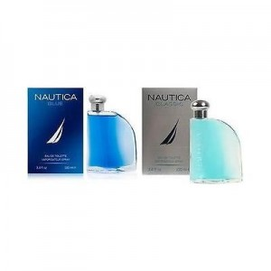 Nautica Blue or Nautica Classic 3.4 oz Cologne for Men
