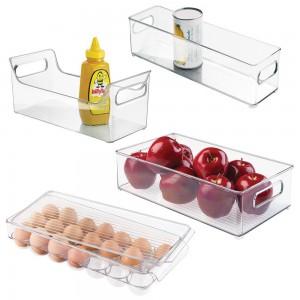 picture of InterDesign Refrigerator, Freezer and Kitchen Storage Organizer Bins
