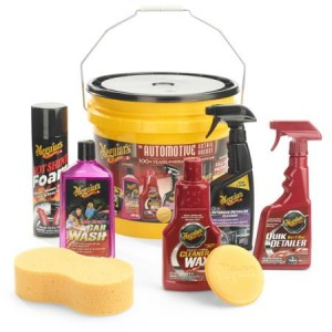 Meguiar's 8-Piece Complete Auto Detail Bucket Kit