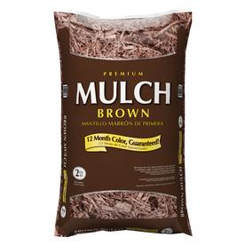 Premium 2-cu ft Dark Brown Hardwood Mulch Sale