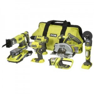 picture of Ryobi ONE+ 18-Volt Lithium-Ion Ultimate Combo Kit (6-Tool) Sale
