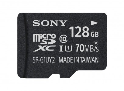 Sony 128GB High Speed Micro SDXC Class 10 Memory Card Sale