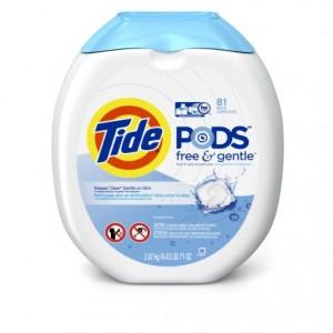 Tide Pods Laundry Detergent, 81 Pack Sale