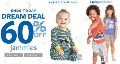 picture of Up to 60% off! Plus Free Shipping - Carter's and OshKosh