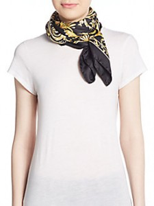 picture of Versace Silk Scarf Sale