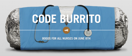 picture of Chipotle Buy 1 Get 1 Free for Nurses - June 5