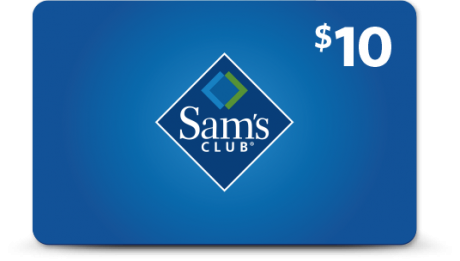 picture of Free $10 Sam's Club eGift Card for Members
