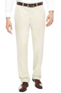 Stafford Flat Front Dress Pants - Classic Sale