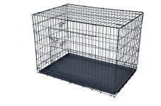 Black 48″ 2 Door Pet Cage Sale