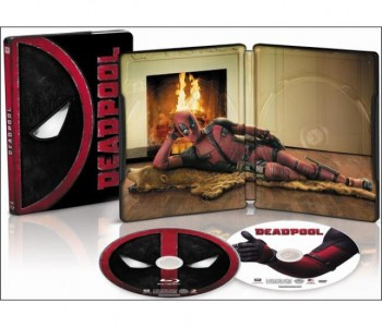 Deadpool Blu-ray Steel Book Sale