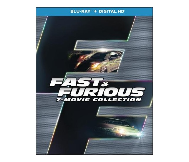 fast and furious 7 movie collection blu ray 8 discs. Black Bedroom Furniture Sets. Home Design Ideas