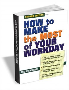 picture of Free How to Make the Most of Your Workday eBook
