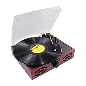 picture of Pyle PVNT7U Retro Style Turntable with USB Port Sale