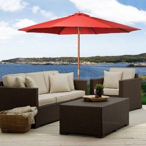 picture of Outdoor 10ft Umbrella Sun Shade Sale