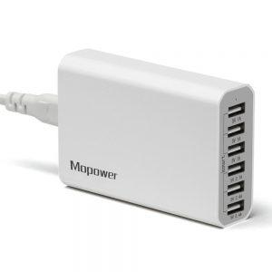 Mopower 50 Watt 10A 6 Ports USB Charger Sale