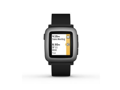 picture of Pebble Time Smartwatch for iPhone and Android Sale