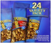 Planters Nut 24 Count-Variety Pack, 2 Lb 8.5 Ounce Sale
