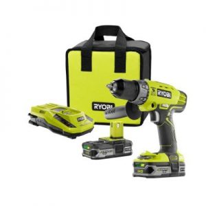 Ryobi 18-Volt ONE+ Cordless Hammer Drill/Driver Combo Kit Sale