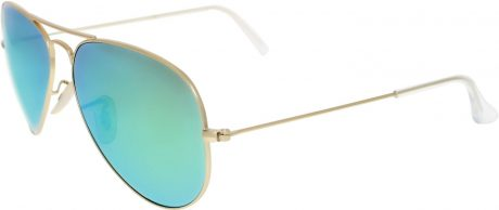 picture of Ray-Ban Mirrored Aviator Sunglasses Sale