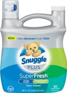Snuggle Plus Super Fresh Fabric Softener 95oz Sale
