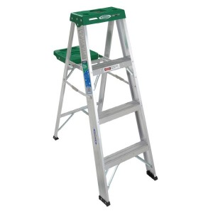 picture of Werner 9 ft. Reach Aluminum Step Ladder Sale