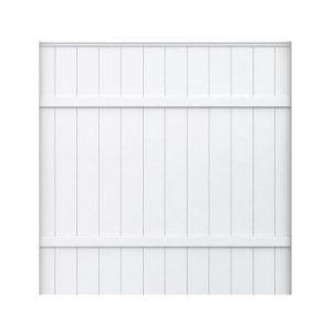 picture of 6 foot White Vinyl Fence Panel Sale