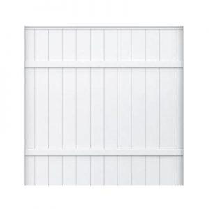 6 foot White Vinyl Fence Panel Sale