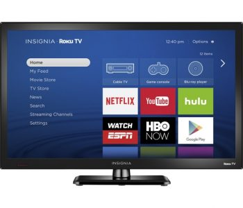 picture of Insignia 24in LED 1080p HDTV with Roku Sale