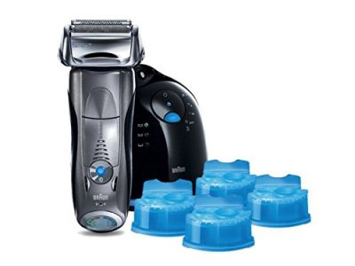 Braun Series 7 790cc-4 Electric Foil Shaver and Clean and Renew Cartridge Sale