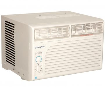 Cool living cl wac5 5 000 btu home office window mount air for 12 x 19 window air conditioner