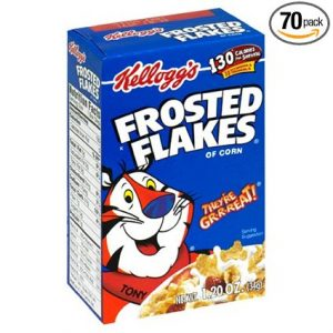Frosted Flakes Cereal Individuals, 70 pack Sale