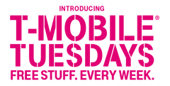 T-Mobile Tuesdays App - Free Stuff for Customers