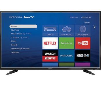 Insignia 48″ LED 1080p Smart TV with Roku Sale