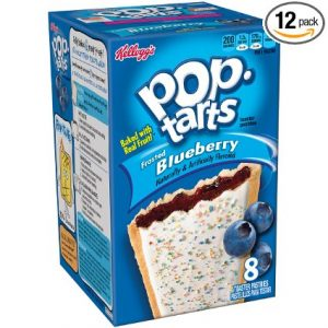 Kelloggs Pop-Tarts 8 Count, 12 Pack Sale