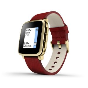 Pebble Time Steel Smartwatch Certified Refurbished Sale