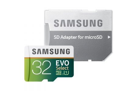 Samsung 32GB EVO Select MicroSDXC w/Adapter Sale
